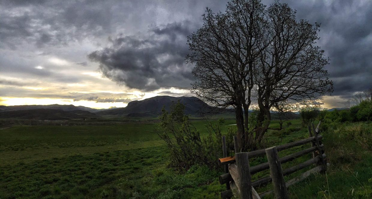 A sunset after a rainy Friday afternoon. Submitted by Chris Lanham.