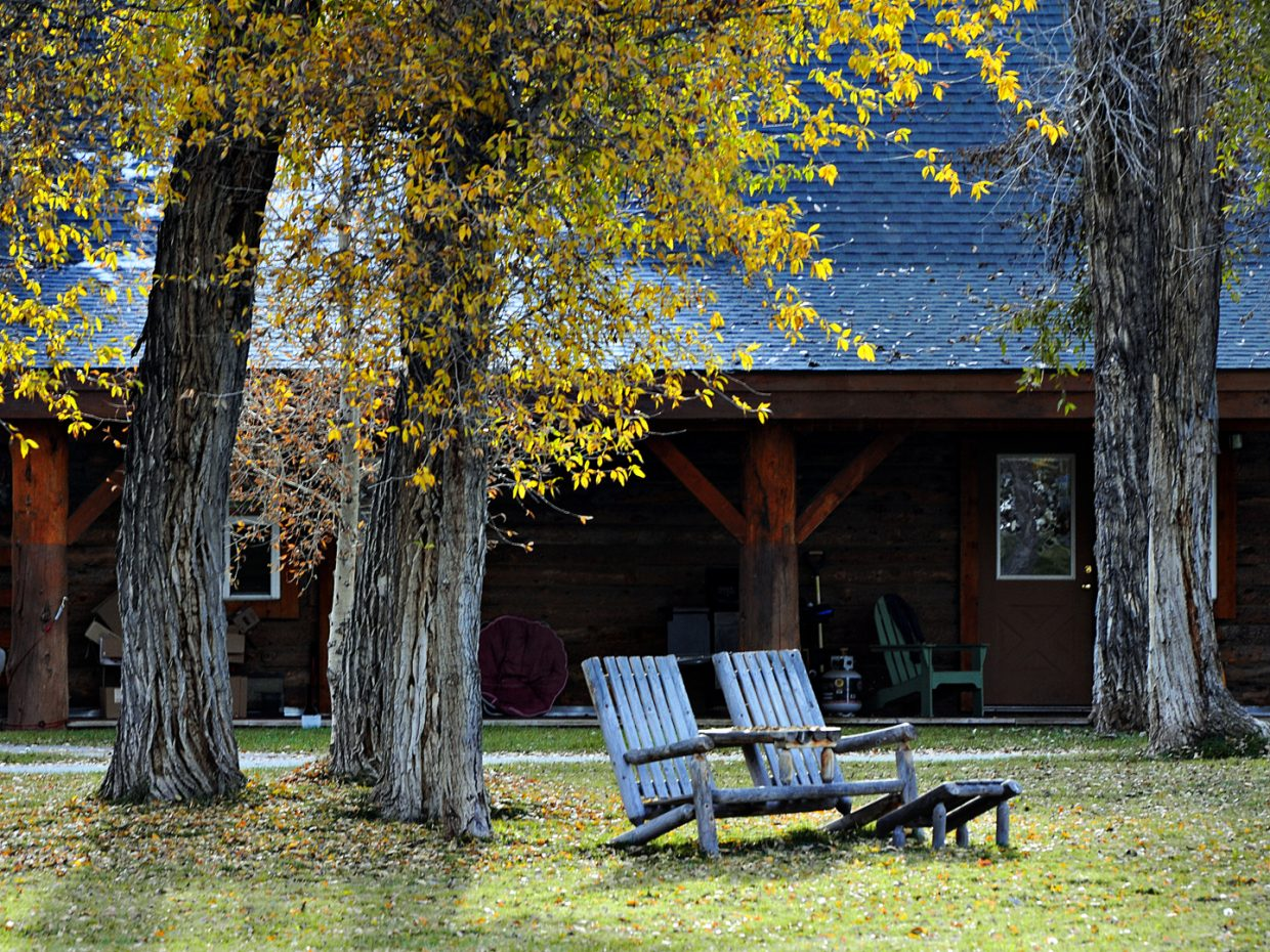 Fall scene at the Riverbend Cabins. Submitted by: Jeff Hall