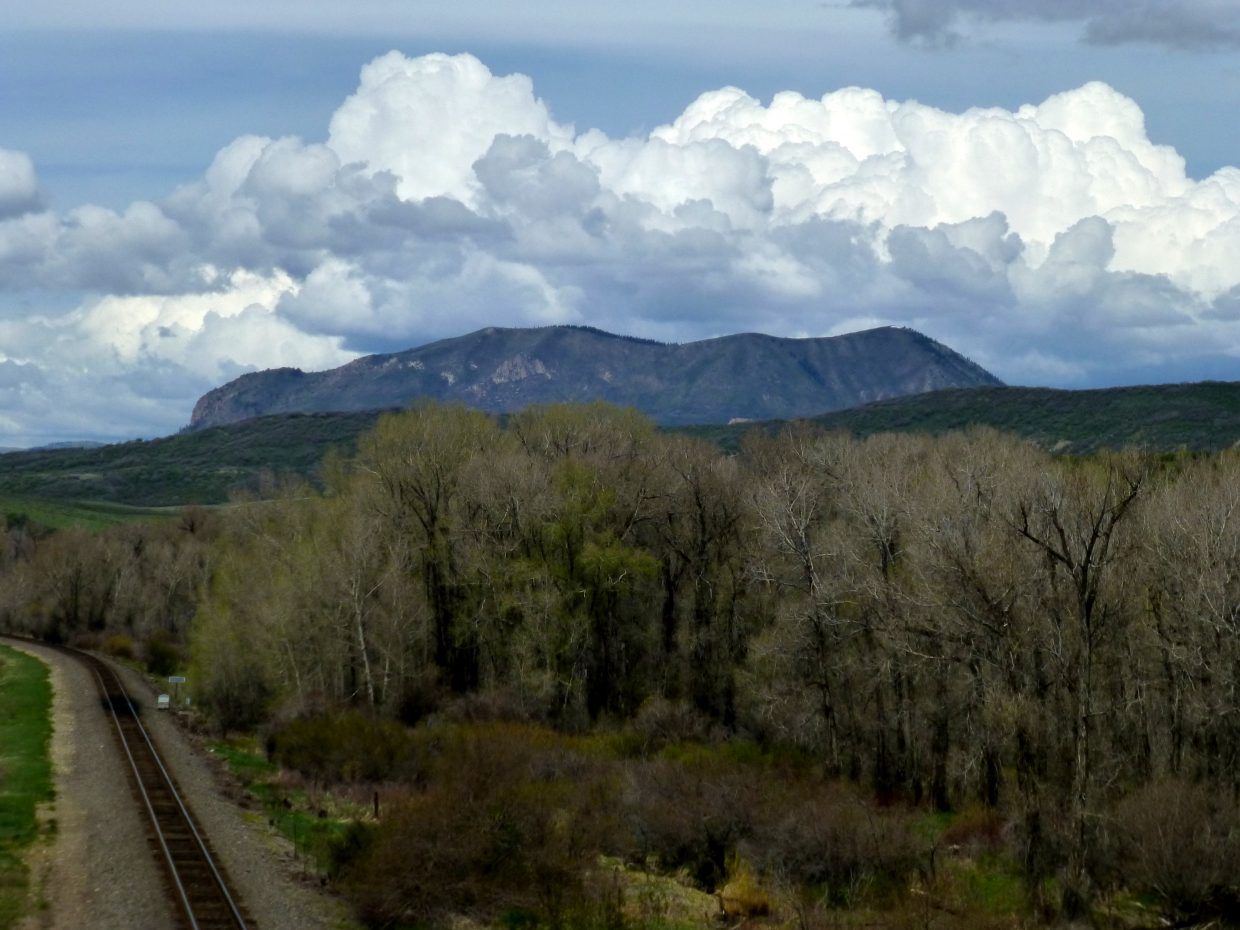 Clouds over the Sleeping Giant. Submitted by Gail Hanley.