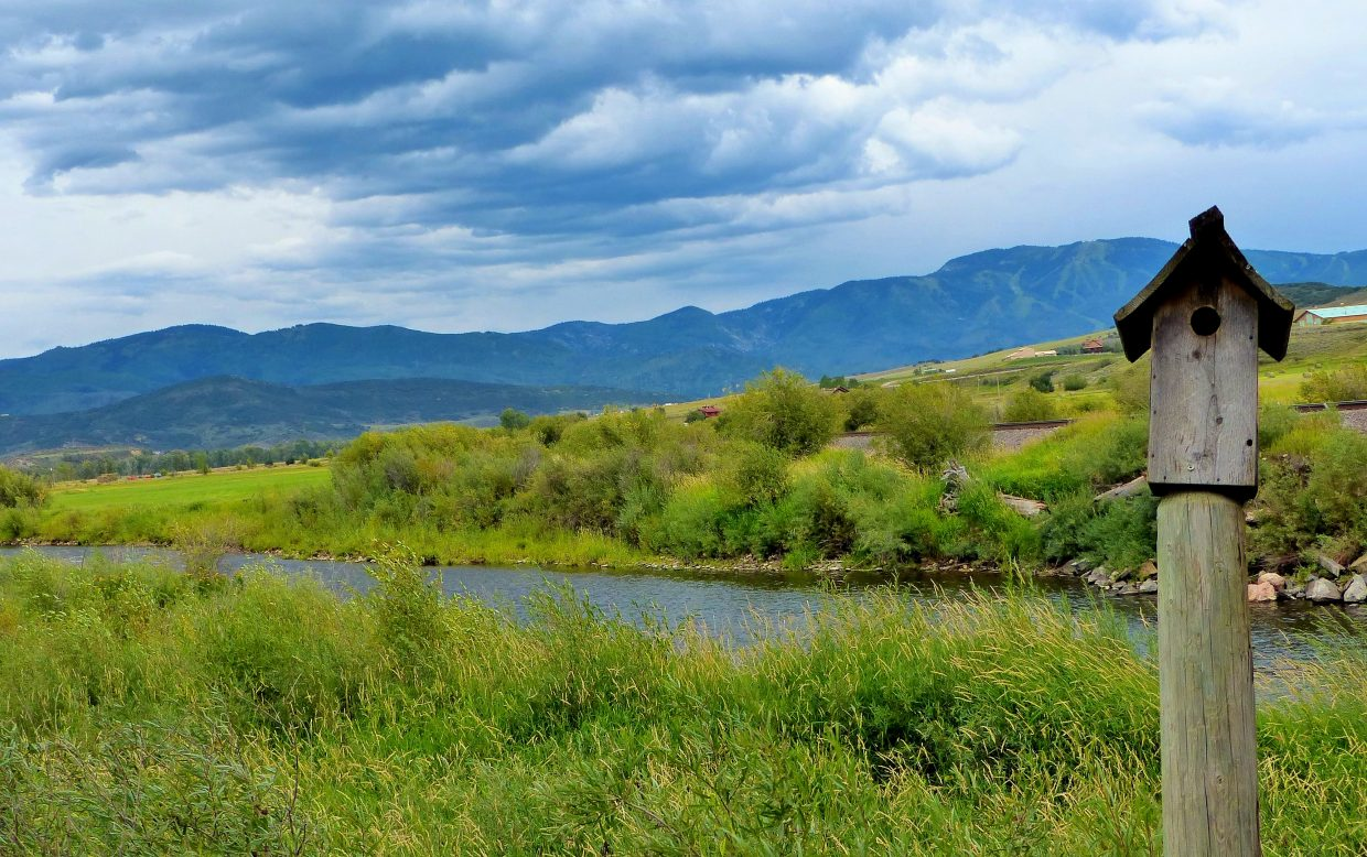 Taken Thursday from the Steamboat Golf Course at River Bend. Submitted by: Shannon Lukens