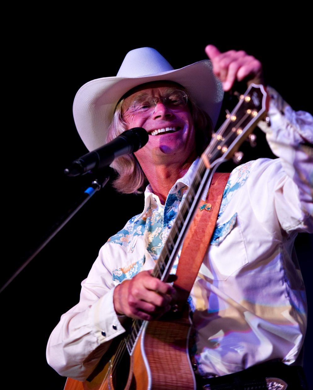 Cowboy Brad Fitch plays two John Denver tribute concerts at the Chief Theater this weekend.