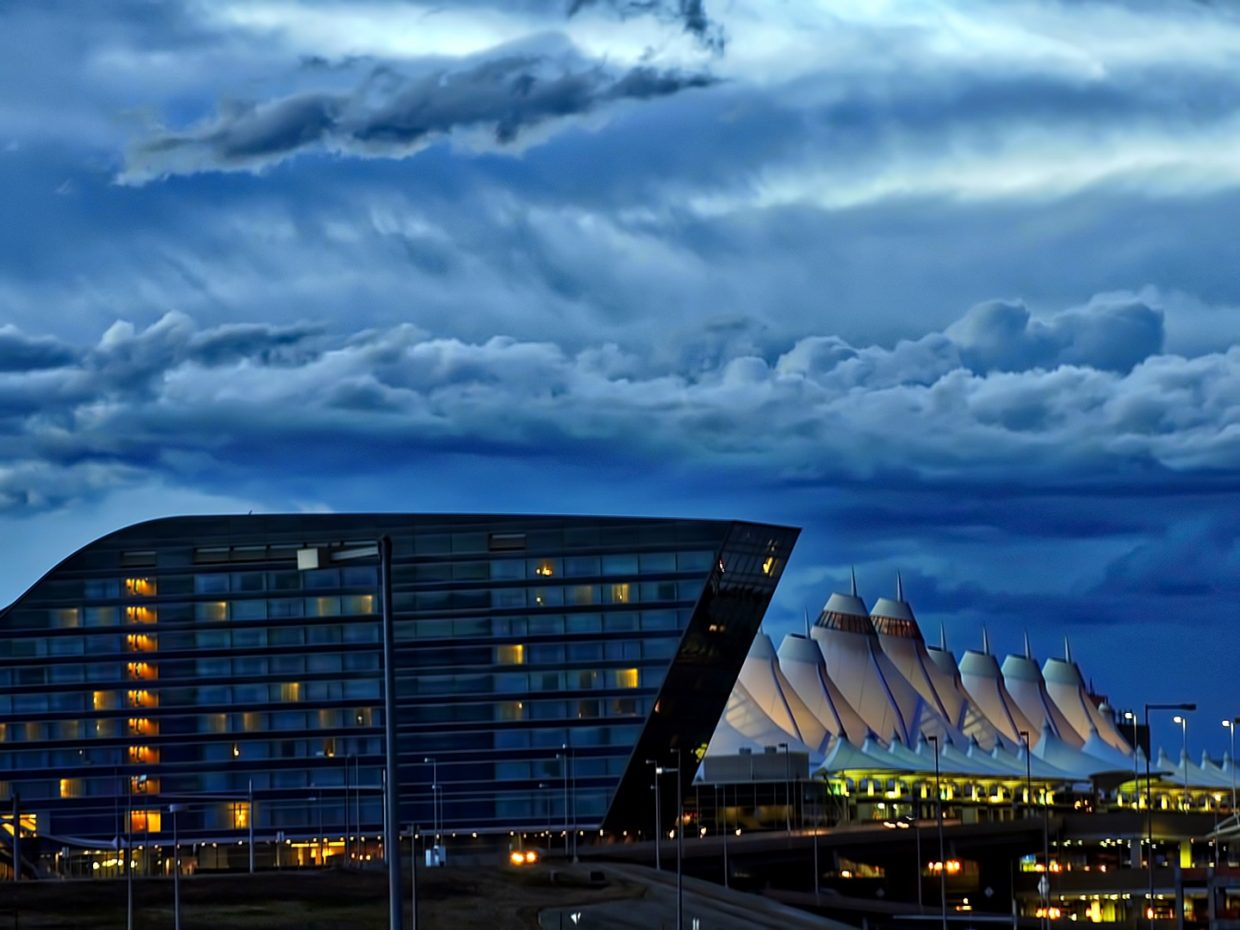 Evening at DIA. Submitted by Jeff Hall.
