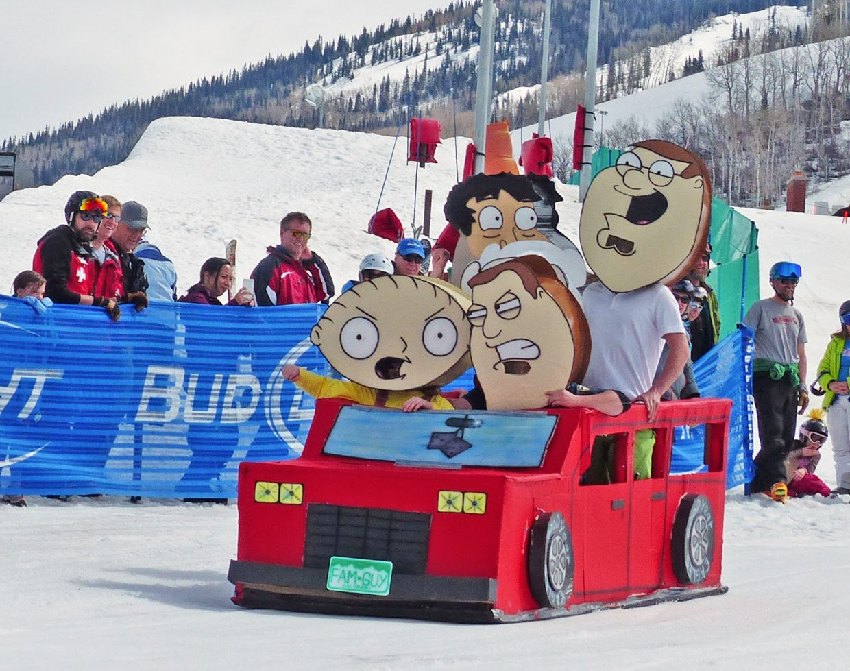 """""""A Family Affair at the 2016 Cardboard Classic."""" Submitted by David Moulton."""