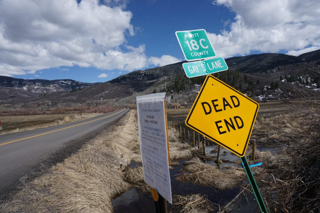 If the county's proposal to vacate Routt County Road 18C is approved, the entire road segment, including the bridge over the Yampa River, would be closed to the public.