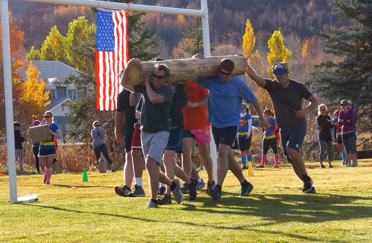More than 150 local fitness enthusiasts came out to raise funds for local military support nonprofit American300. Manic Warrior featured numerous challenges that required teams of five to work together to complete varied fitness challenges. More than $10,000 was raised for the nonprofit American300, which is known locally for the many Olympians and Astronaut Steve Swanson, who have visited the troops during the past six years with founder Rob Powers, a U.S. Army Veteran.