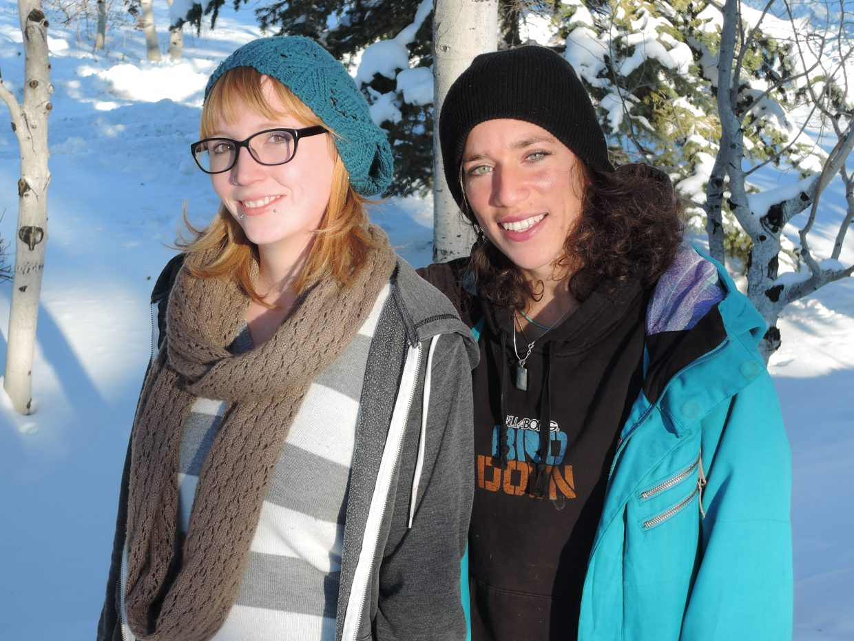 Kimberly Doty and Penelope Freedman are helping to put together a benefit for the Philippines on Thursday at the Ghost Ranch. The event begins at 8 p.m. and costs $5 with all proceeds benefiting UNICEF.