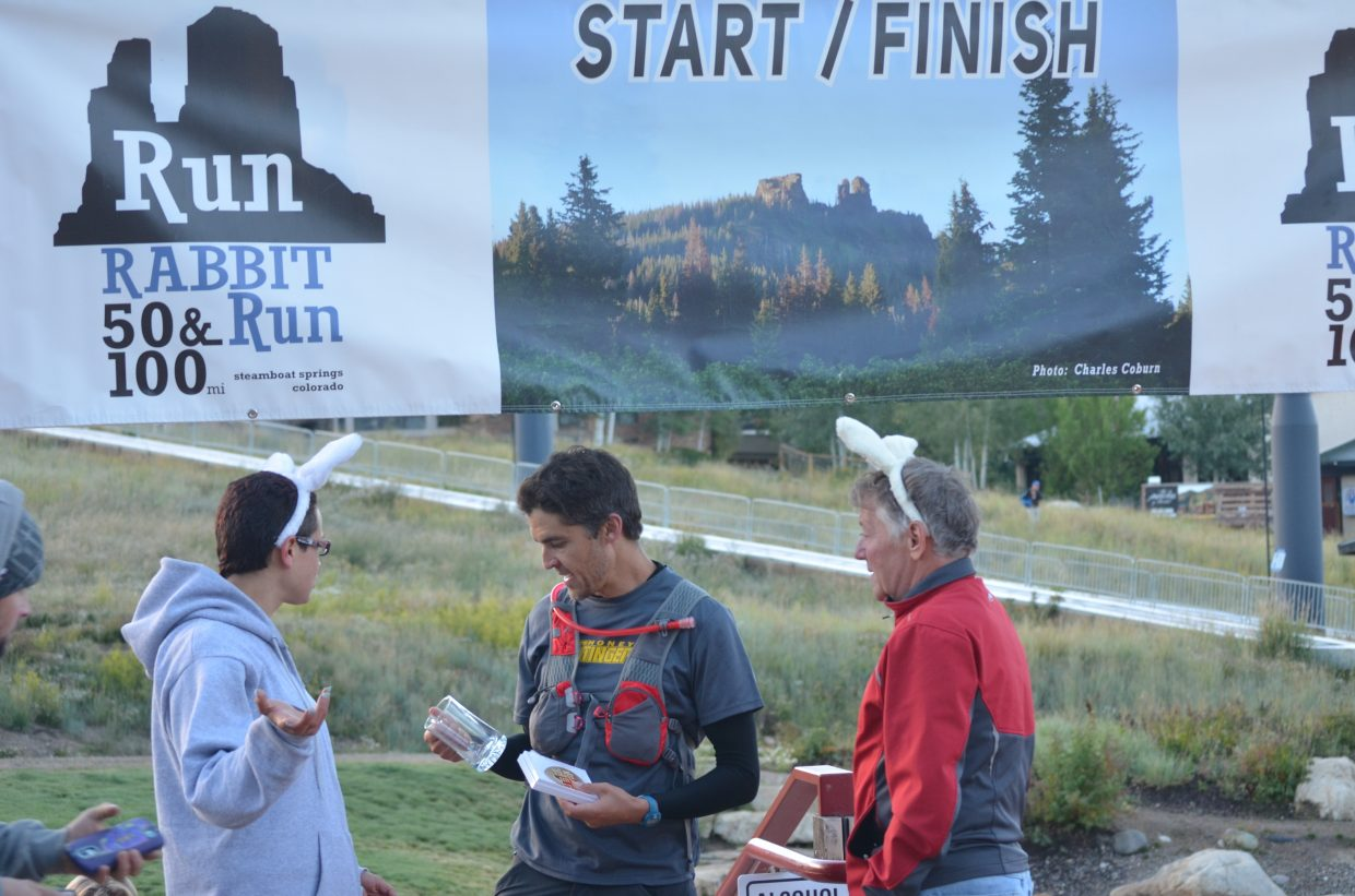 Run Rabbit Run 4th place finisher Travis Mattern. Submitted by Don Ciavarra.