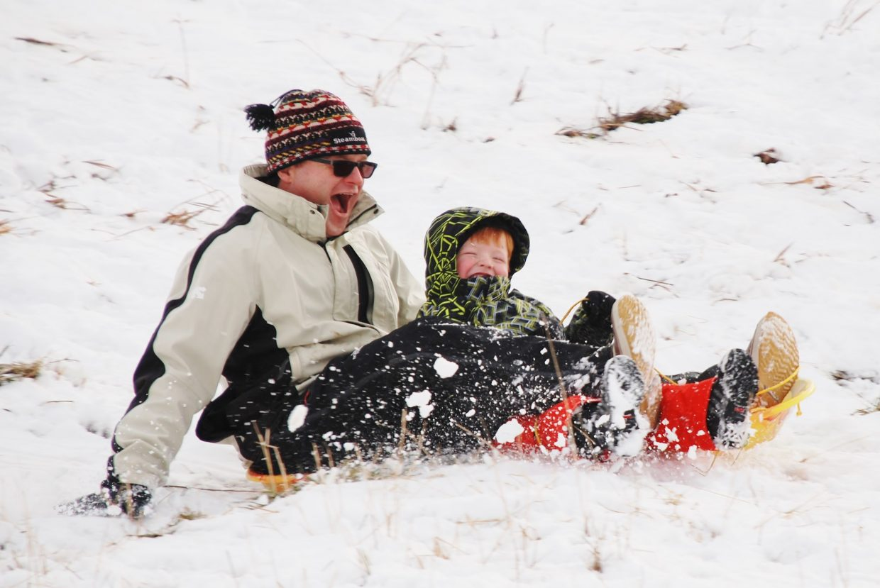 Sledding season 2013 is underway! Submitted by: Wendy Harvey