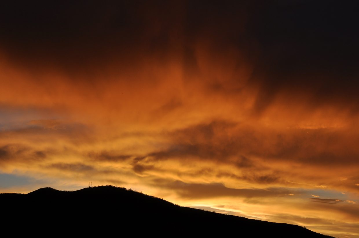 Steamboat skies on fire. Submitted by: Keelan Vargas