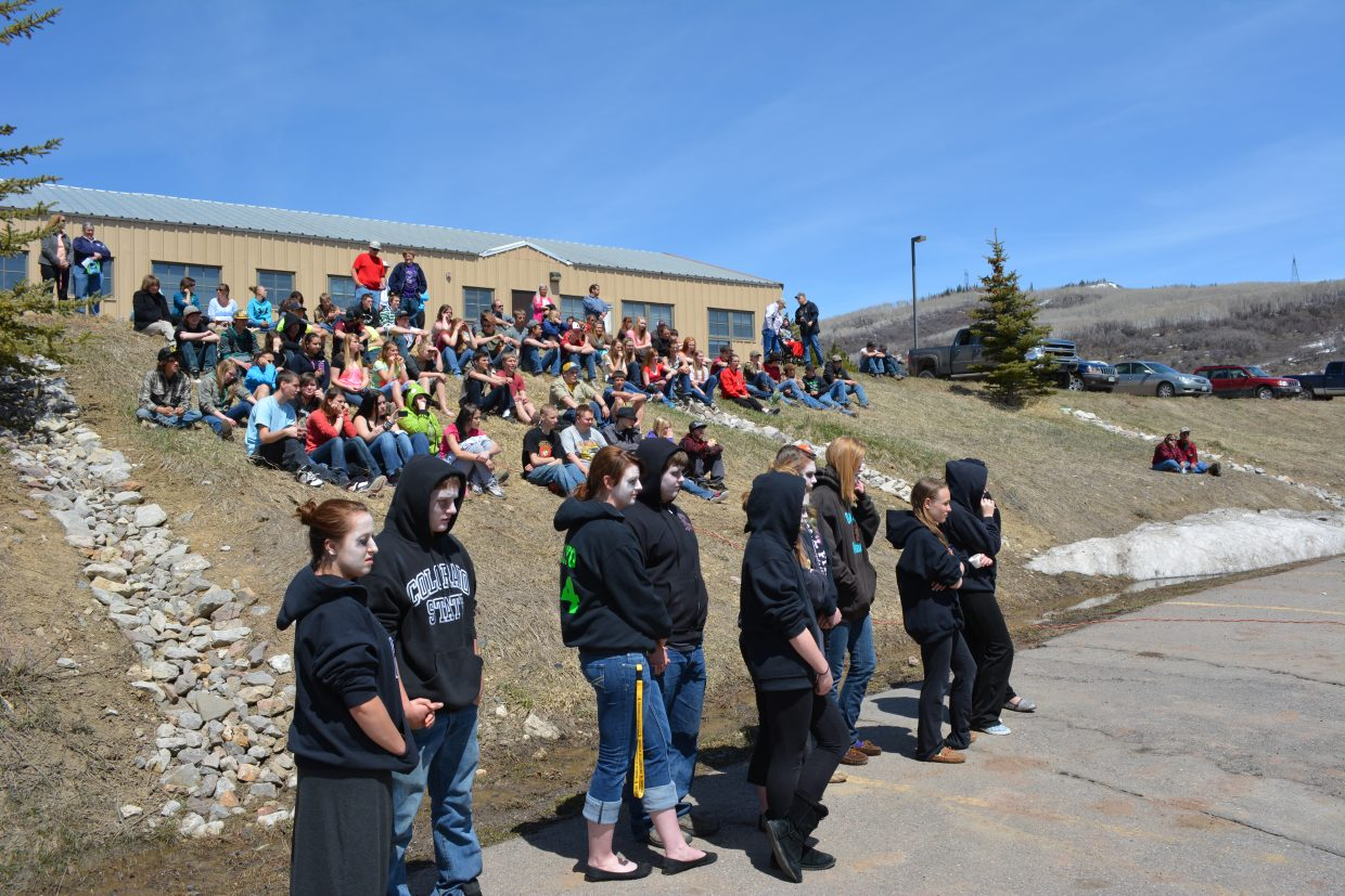 SOROCO High School Alcohol Awareness Assembly. Submitted by Randy Homan.