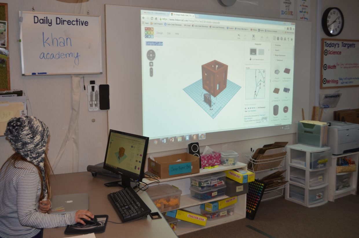 Caroline Landers shares a few of the techniques in TinkerCad that she discovered on her own.