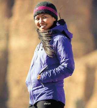 Dawa Yangzum, one of the best female climbers in the world, will speak at the Bud Werner Memorial Library at 6:30 p.m., Wednesday to raise money for the Maya Sherpa Project.