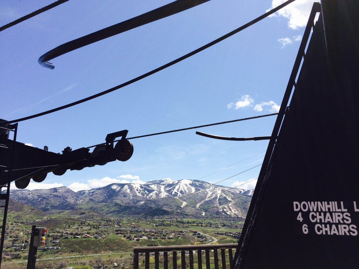 On the mountain. Submitted by Dave Ornberg.