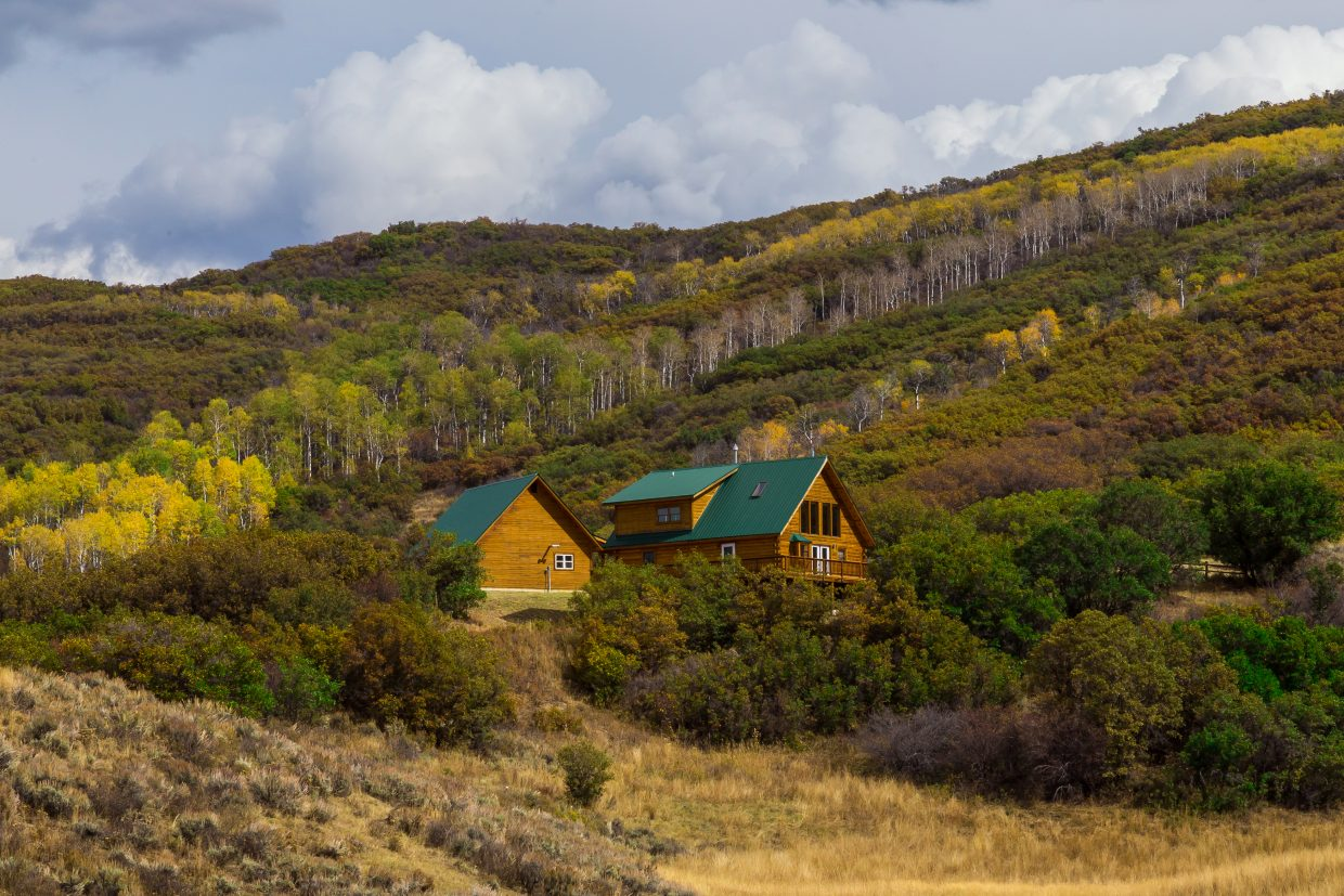 This log home listed by Bruce Carta of The Boyd Team at Steamboat Sotheby's International Realty is an example of the type of log homes featured on an upcoming episode of Log Cabin Living on HGTV.