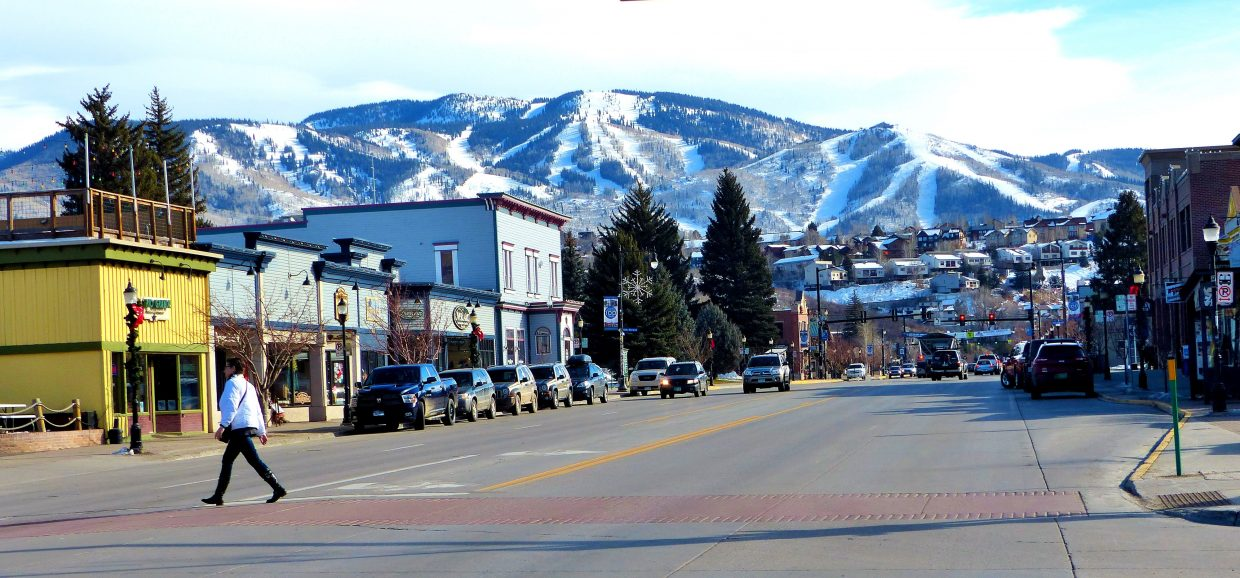 Downtown Steamboat. Submitted by: Shannon Lukens