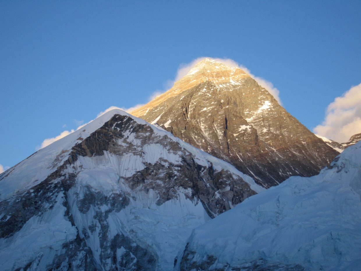 A 7.8-magnitude earthquake shook Nepal and the Mount Everest region in April, 2015.