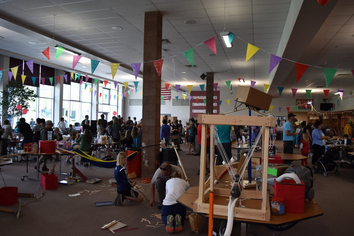 Kid tested, kid approved: The Maker Faire showcased several stations entirely crafted and run by kids and for kids last weekend.