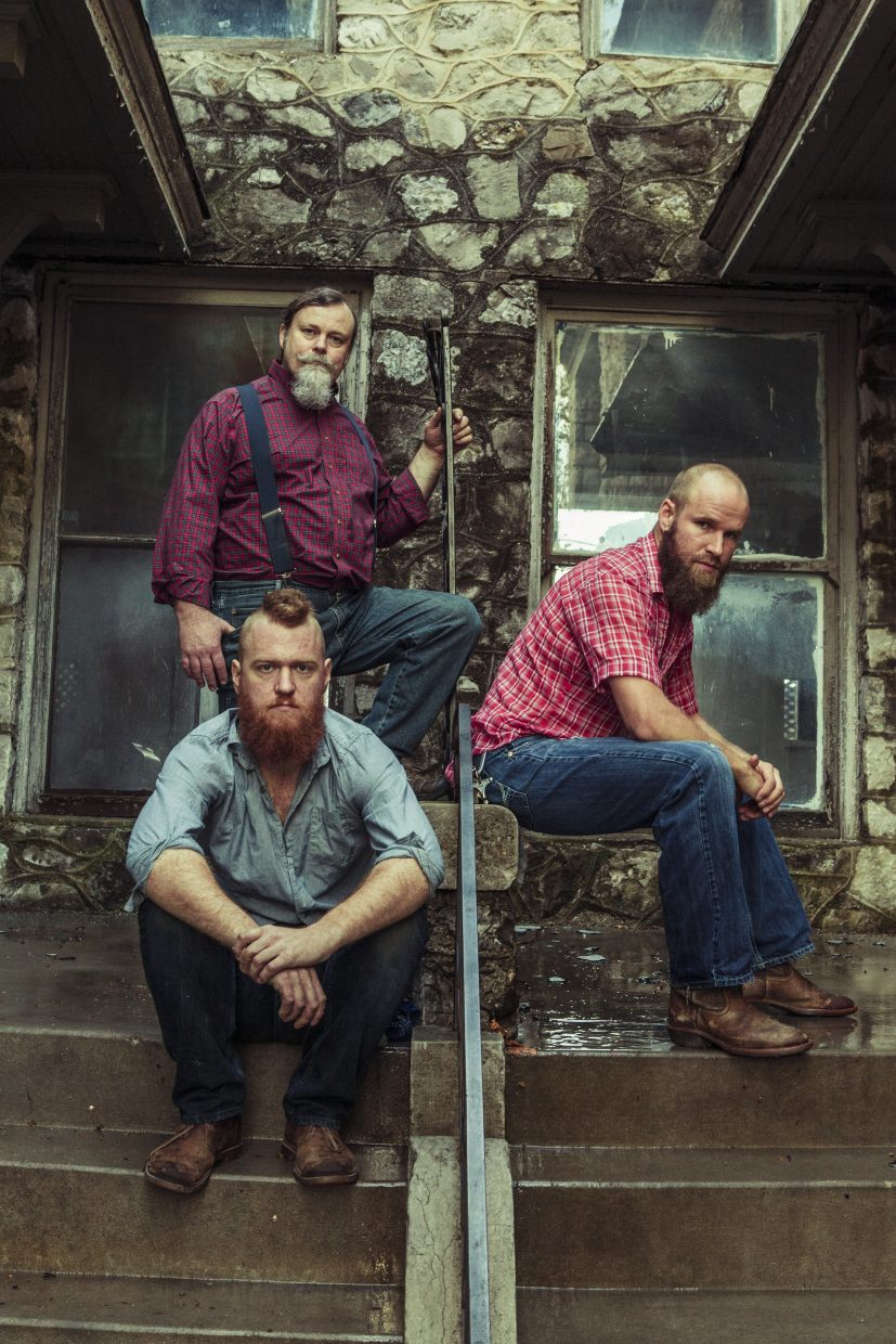 Members Scott Leeper, Doug Dicharry and Ben Miller are of the one-of-a-kind trio known as the Ben Miller Ban. The group will be in Steamboat Springs on Friday for a 7 p.m. show at the Chief Theater.