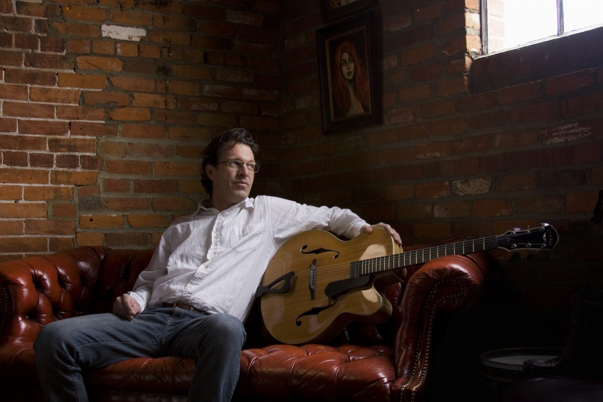 Brian Hull, fellow singer who will be on stage with Carol Frazier at the Chief Theater Friday night.