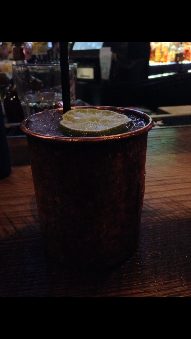At Carl's Tavern, the Rocky Mountain Mule (shown in this photo) is one of the popular drinks in town.