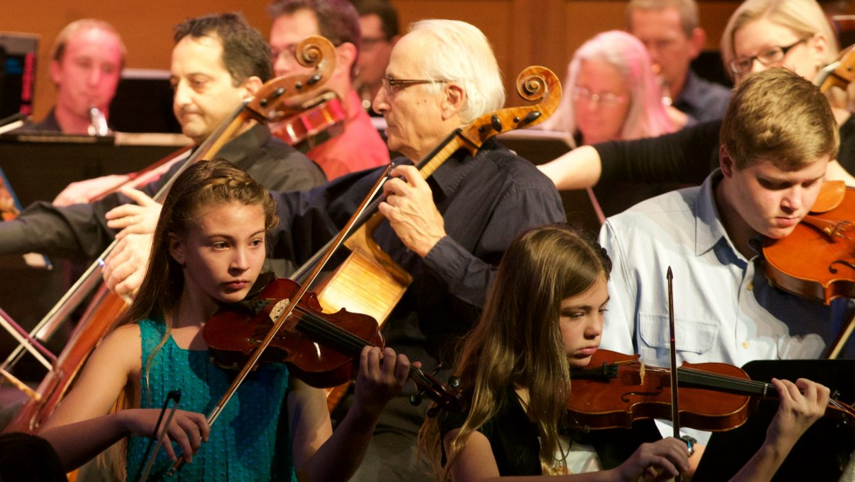 At the Christmas Spectacular event last week, Ernest Richardson led the Steamboat Symphony Orchestra and the youth orchestra to kick off the holiday season.