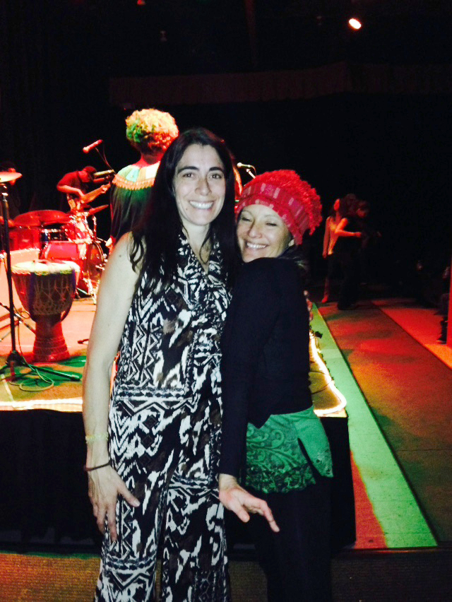 In this photo: Angela Carroll and Eva Luna
