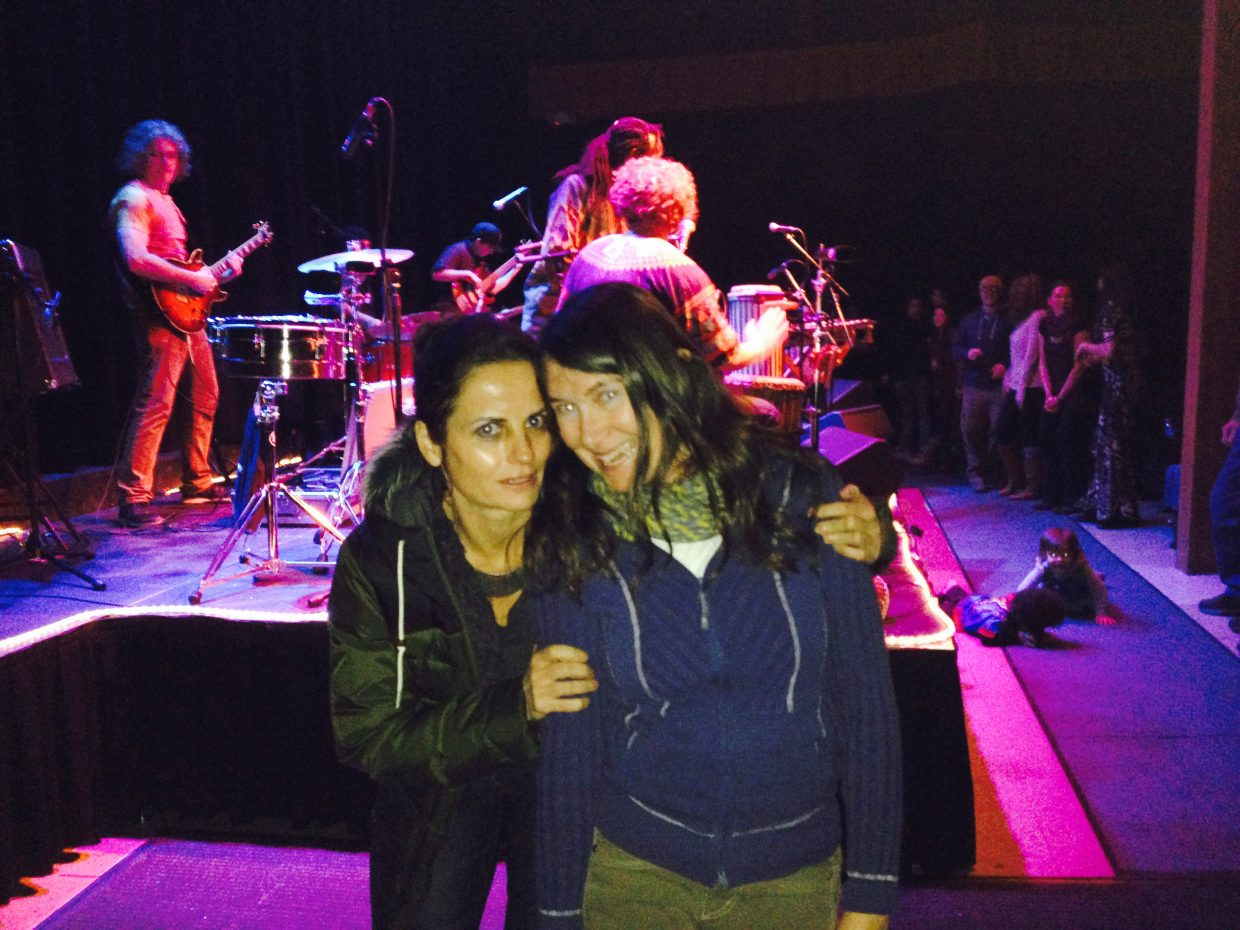 In this photo: Emmanuelle Vital and Wendy Smith Mikelsons