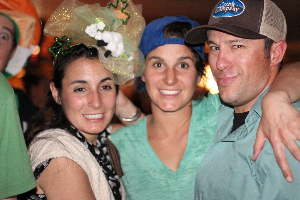 In this photo: Tara Wernig, Julie Wernig and Kyle Nelson