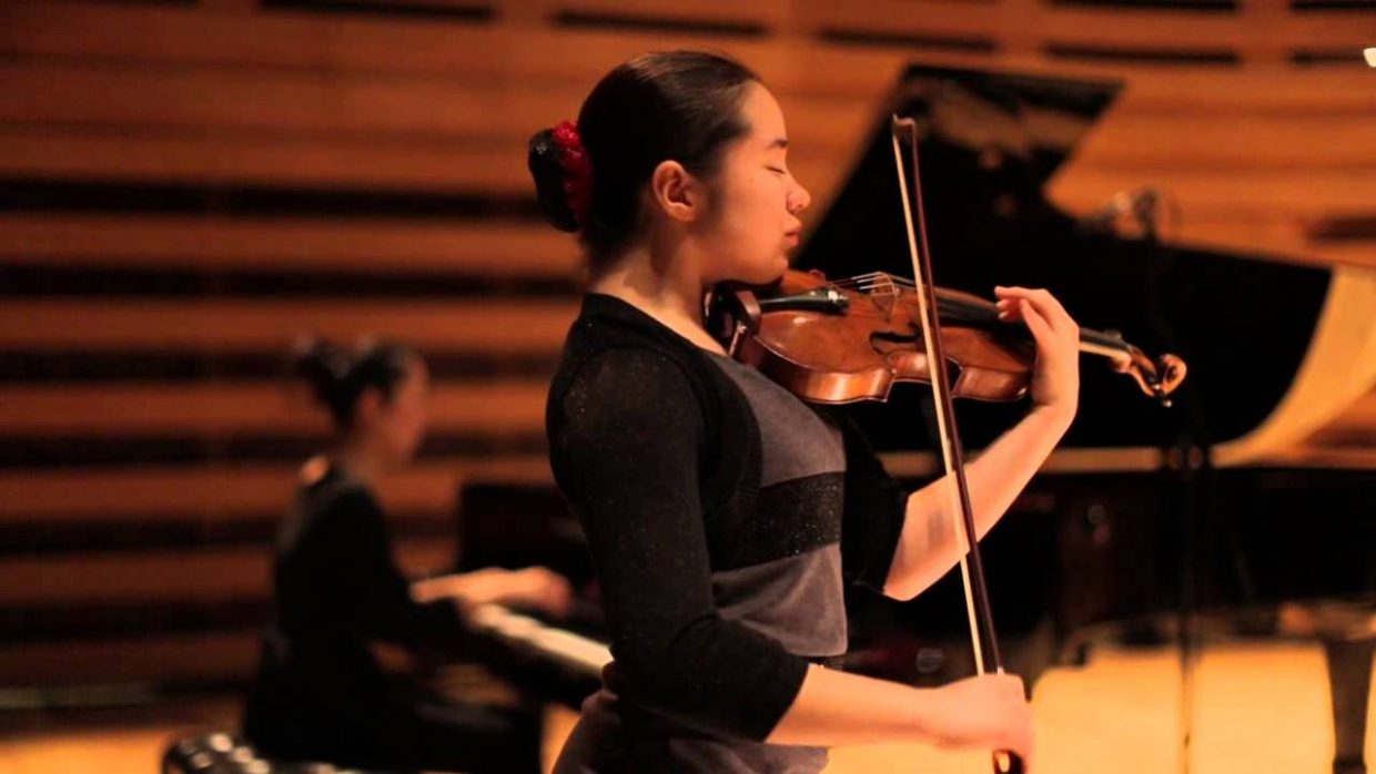 Talented, high school violinist, Emma Meinrenken will be the featured musician this weekend for the Chief Theater's Friends and Family series.