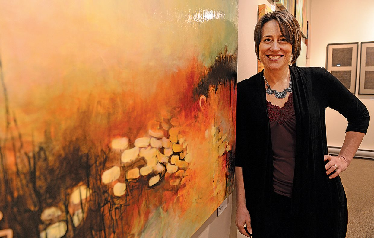 Local painter Rachel Hirning's work will be featured at the Center for Visual Arts this month, with the show opening for First Friday Artwalk.