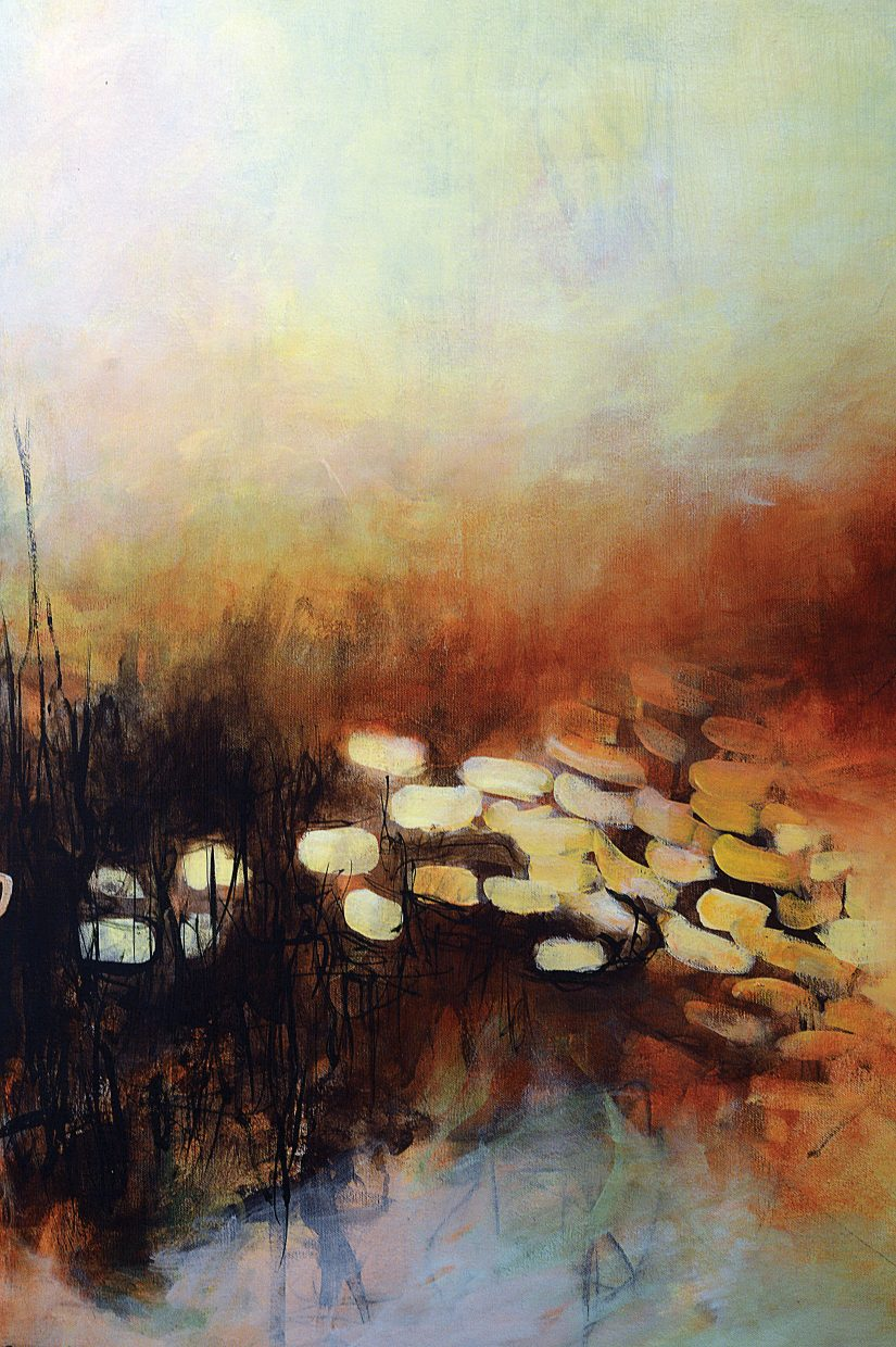 Local painter Rachele Herning will have her work featured at the Center for Visual Arts during the First Friday Artwalk,