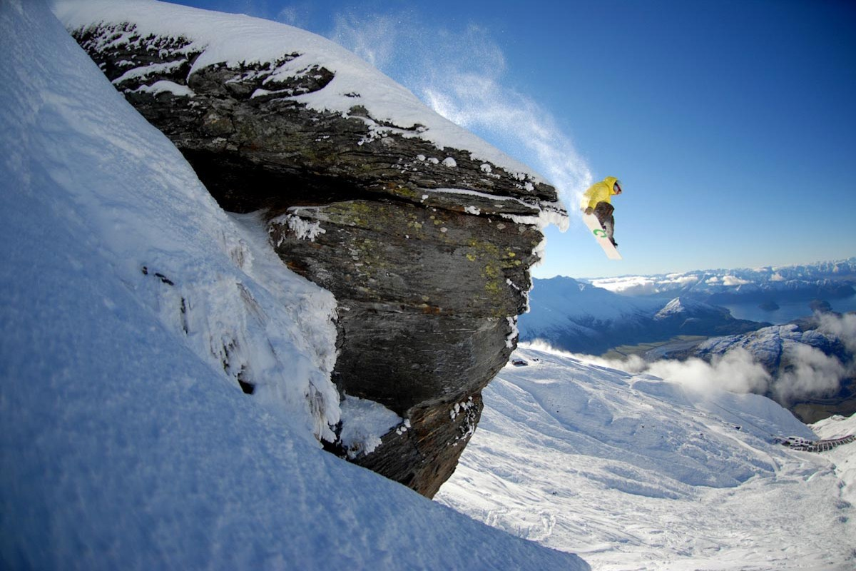 """This is a shot from the film """"Interpretation"""" by Tim Pierce about snowboarding in New Zealand. The Steamboat Film Festival will return at 7 p.m. Friday at the Chief Theater."""