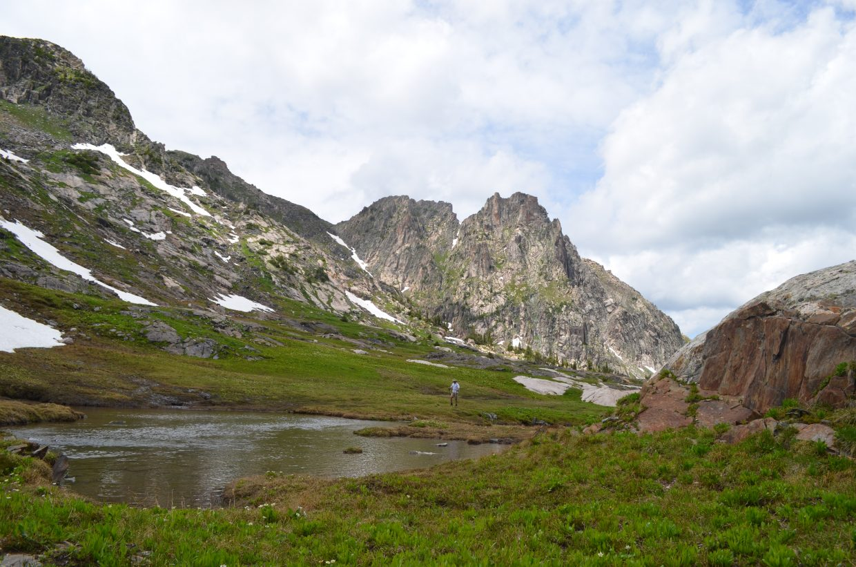 Explore contributor Greg Johnson travels through the Zirkel Wilderness for a backpacking excursion with a few friends.