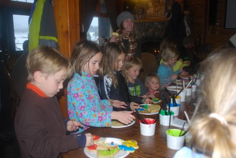 At the Hahn's Peak Roadhouse, families, friends and kids of all ages gather to celebrate the holidays with cookie decorating, sleigh rides, Santa Claus visits and live music. Their fourth annual Christmas Party will start at 3:30 p.m. this Saturday.