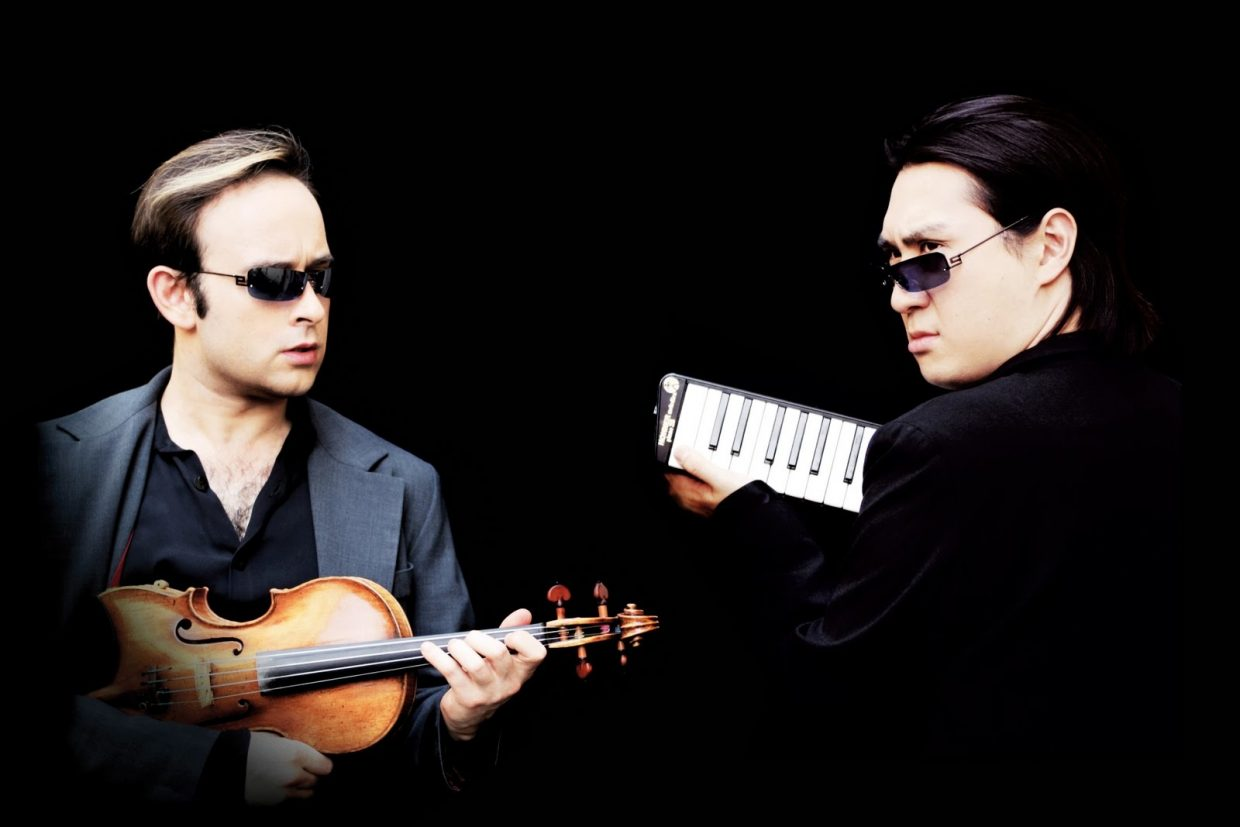 Alek­sey Igudes­man and Hyung-ki Joo and the duo with an astonishing musical act that combines comedy and pop culture filling concert halls and stadiums around the world and performing with renowned musicians and orchestras.