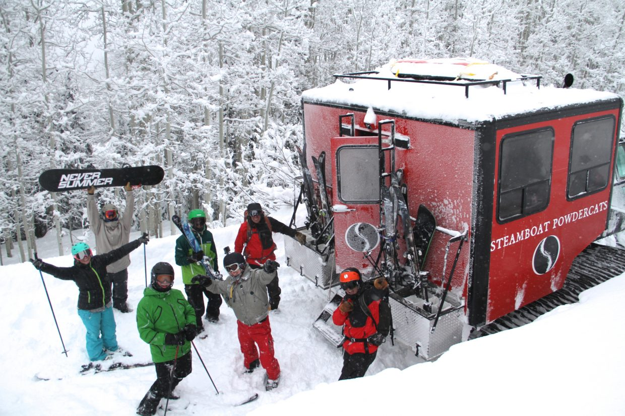Steamboat Powdercats offers guests a fantastic day of powder cat skiing.
