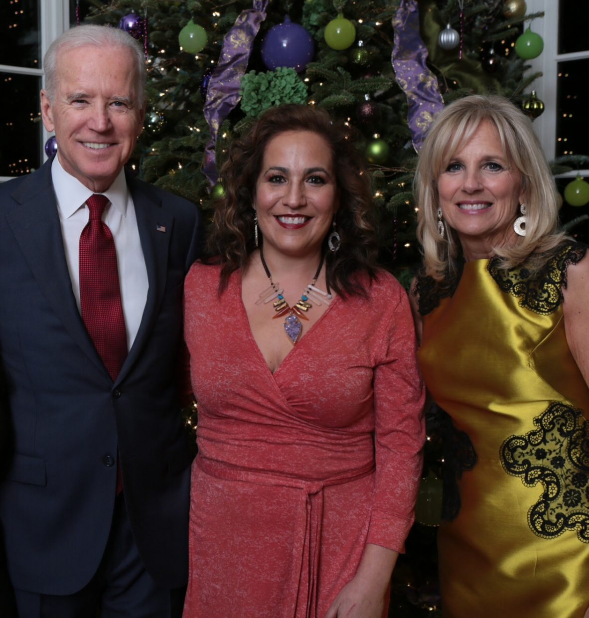 Steamboat Springs resident Paula Salky stands with Vice President Joe Biden and his wife, Dr. Jill Biden. Salky went on a trip to Washington, D.C., last week and attended various dinners and celebrations in light of Hanukkah and the 35th annual Festival of Lights celebration.