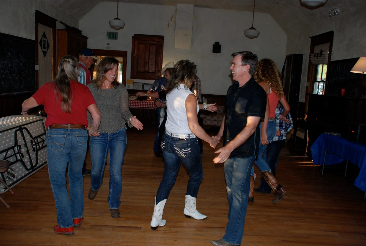 Dancing and good food with friends and family, the monthly Moonhill Schoolhouse Supper and Dance is just one of many activities to take part in this weekend in Steamboat Springs.