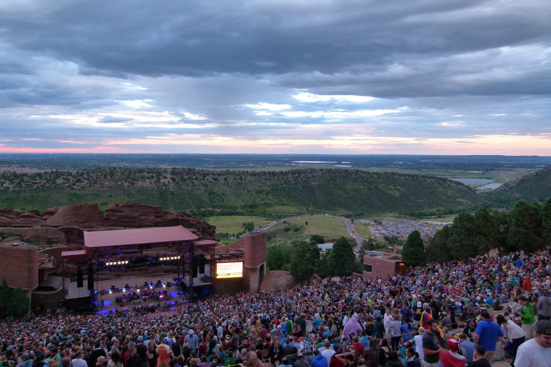 At Red Rocks last weekend Explore's music contributor Elliot Seng experience the String Cheese Incident show.