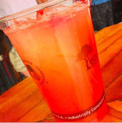 One of Sunpies Bistro signature drinks is the Hurricane.