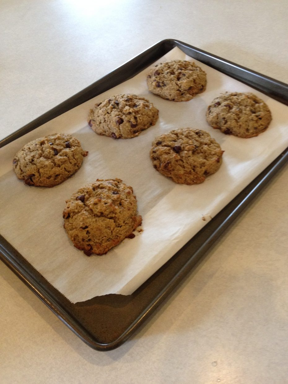 This week Explore's food blogger, Tera Johnson-Swartz, shared her healthy recipe for indulgent chocolate chip cookies.