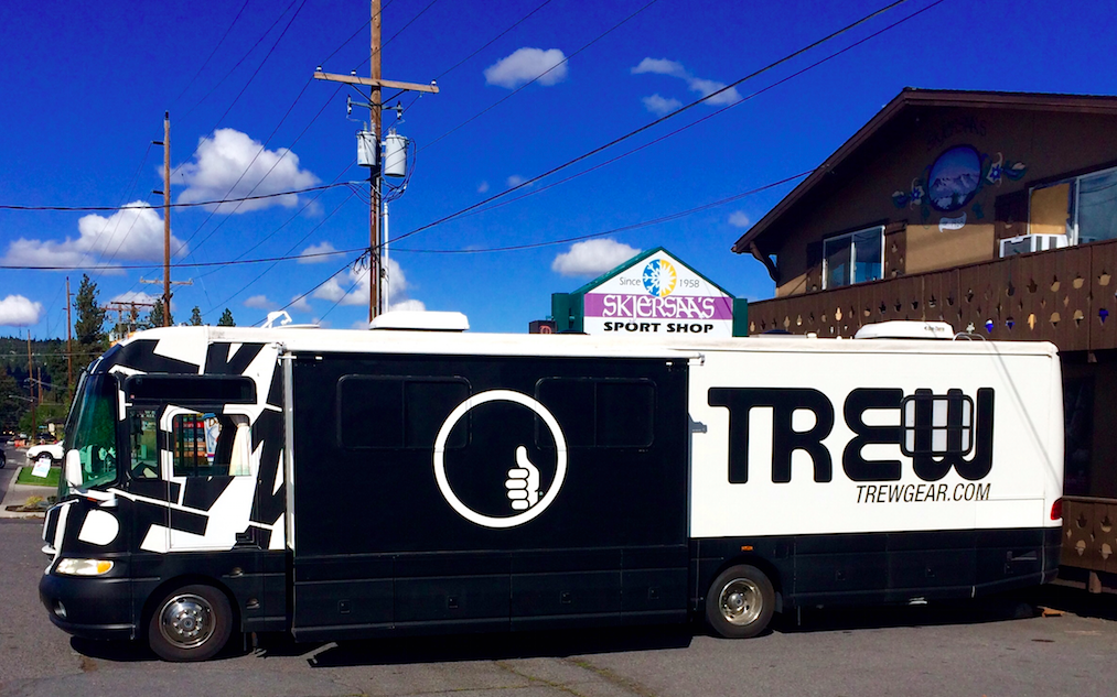 This weekend, TREW gear will make a stop in Steamboat Springs for the first time. As part of their tour to ski towns all over the U.S.