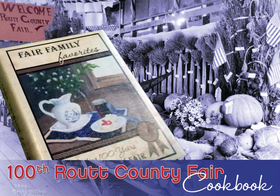 """The """"Fair Family Favorites"""" cookbook is a collection of recipes and memories compiled in celebration of the Routt County Fair's 100th anniversary. All proceeds from the sale of the cookbook, which will be available at the Routt County Fair, go toward improving the Routt County Fairgrounds' Exhibit Hall."""