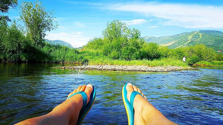 Yampa River everyday. @aspenjen