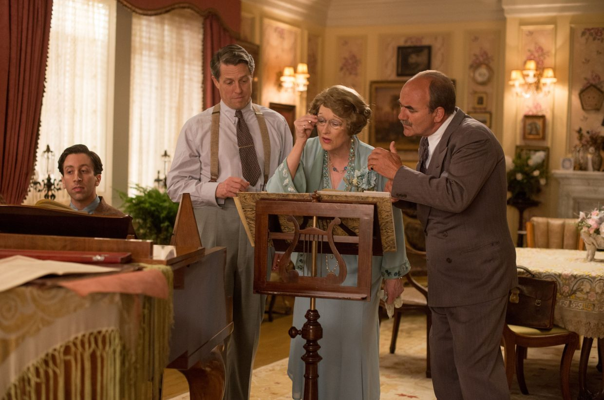"""Florence (Meryl Streep) looks over some sheet music in """"Florence Foster Jenkins."""" The movie is about a wealthy woman in the 1940s who embarks on a singing career despite having very little talent."""