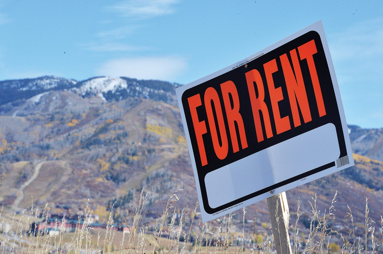 The latest data from the U.S. Census Bureau's American Community Survey suggests that an increasing number of Steamboat renters are spending more than 35 percent of their gross household income on rent.
