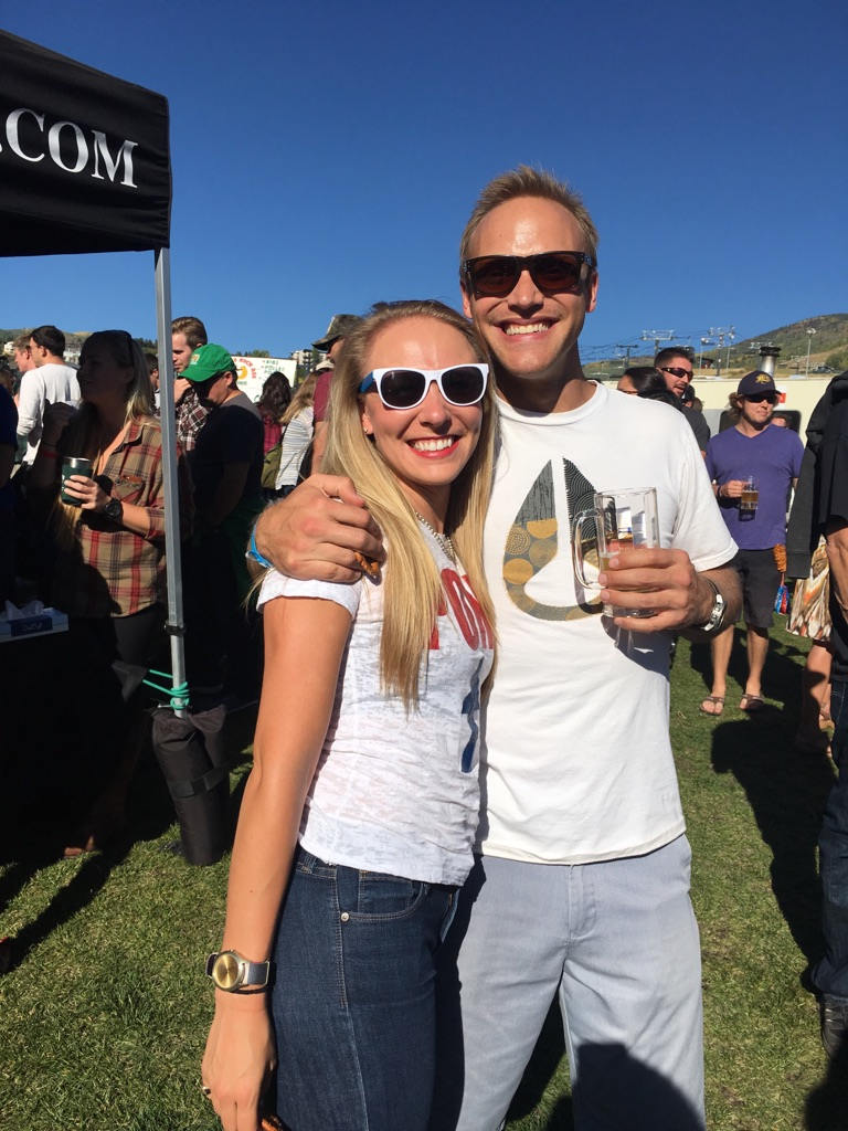 In this photo: Meg Southcott and Clint Koehler