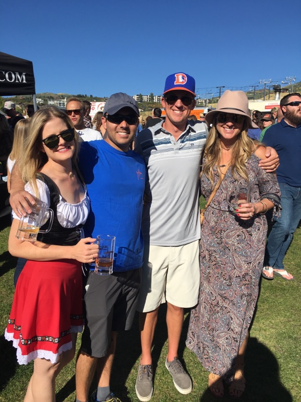 In this photo: Jaime Ellis Witty, Richard Witty, Chad Harkins and Kelsey Harkins.