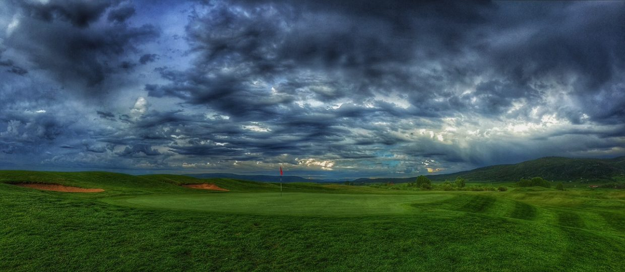 The 18th green, Haymaker Golf Course. Submitted by Chris Lanham.