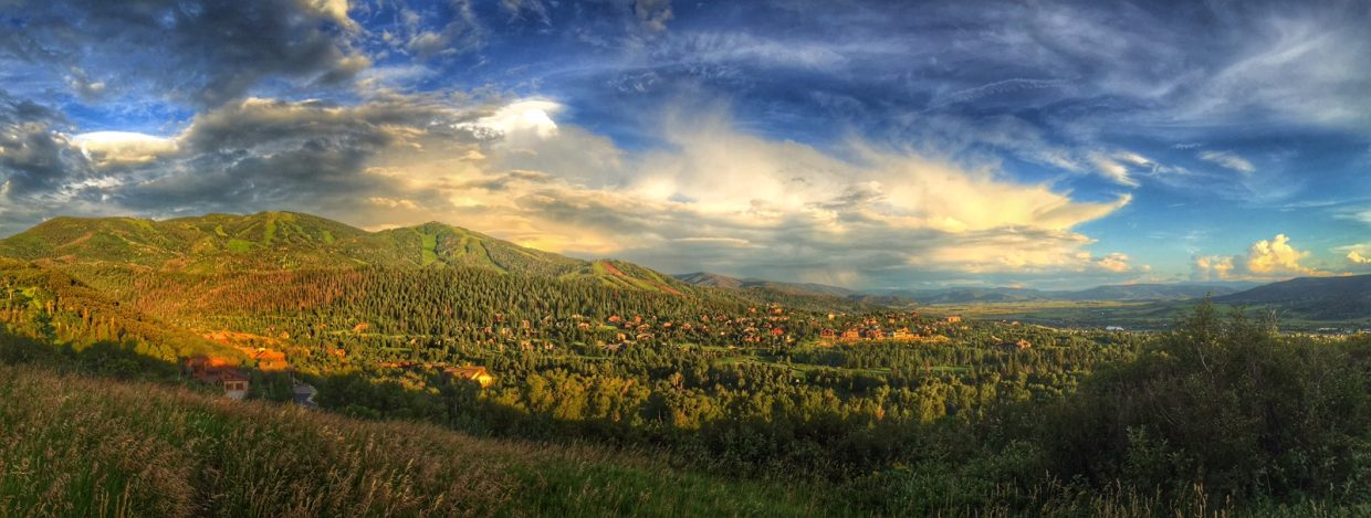 Mount Werner and the Yampa Valley.